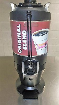Wilbur Curtis Dunkin Donuts  Coffee/Hot Chocloate Dispenser  Thermopro 1.5 gal