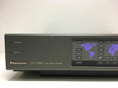 Panasonic NV-W1 Multinorm VHS-Videorecorder ohne Fernbedienung
