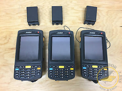 Lot of 3 Symbol MC7090 Barcode Scanners **GRADE A CONDITION**