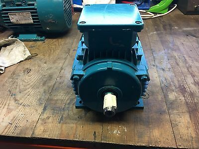 Brook Crompton 3 Phase 230V To 415V Electric Motor 0.75Kw / 1Hp