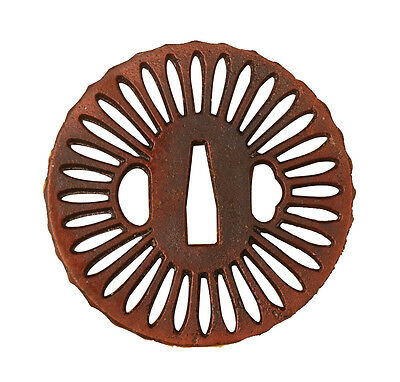 High quality Delicate Iron Guard Tsuba For Japanese Katana Tanto Wakizashi
