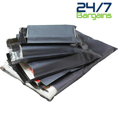 Grey Mailing Post Mail Postal Bags Poly Postage Self Seal All Sizes Cheap Strong