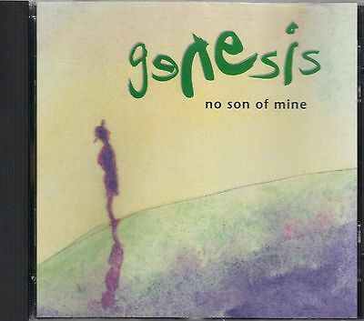 GENESIS  No Son Of Mine  rare promo CD single PicCover  PHIL COLLINS