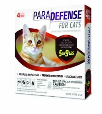 ParaDefense For Small Cats 5-9 lbs, 4 Doses