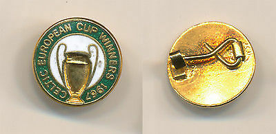 small celtic european cup winners badge