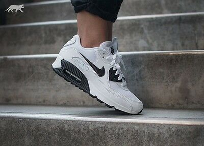 Nike Air Max 90 Essential # 616730 110  Black White  # / Women's Trainers /
