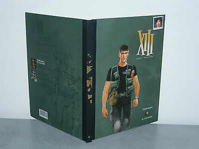 Xiii (Vance & Van Hamme)  Album Double Tome 5 Edition Luxe Dos Toile Dargaud Ppo
