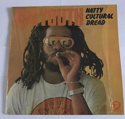Big Youth Natty Cultural Dread  Trojan  Lp 1976 Nice Copy !!!!
