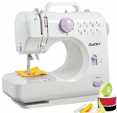 Sewing Machine Double thread, double speed (Low / High) 8 built-in stitch patter
