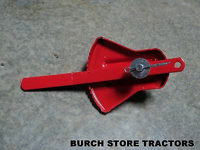 NEW Farmall CUB / Cub LoBoy ~ THROTTLE FUEL PANEL with LEVER and MOUNTING BOLT