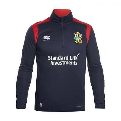 Official Canterbury  Lions New Zealand Tour 2017 Thermoreg Fleece 1/4 Zip Top