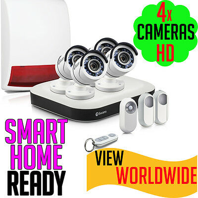 Swann ONESMART CCTV FHD 1080p 8 Channel Security System Surveillance DVR8 ALARM