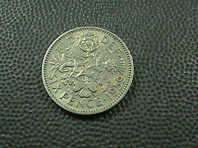 GREAT  BRITAIN    6  pence   1959