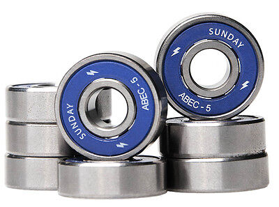 Sunday - ABEC 5 Skateboard Bearings