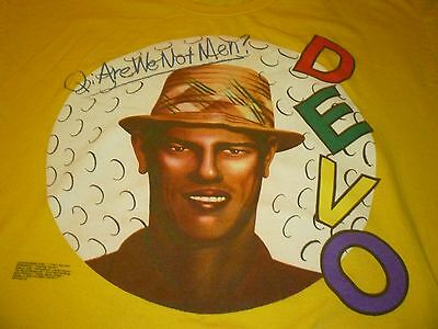 Devo Shirt ( used Size XL Missing Tag ) Used Condition!!!