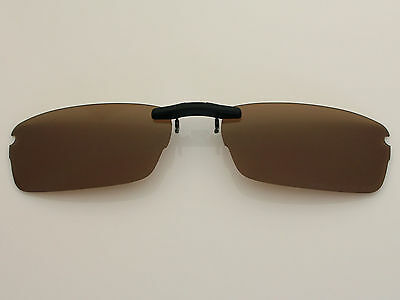 59d64f7248 Custom Fit Polarized Hook Up Sunglasses For Rhinochaser OX3111 52X19 Brown  •  19.99 - PicClick