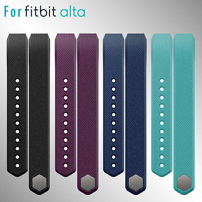 Premium Replacement Watch Wrist Band Classic Strap For Fitbit Alta Small / Large