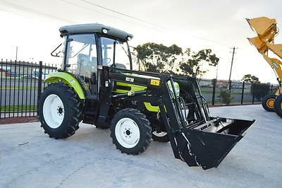 Brand New 2017 60hp Tractor Agrison Turbo + Aircon + 6FT Slasher + 5 Yr Warranty