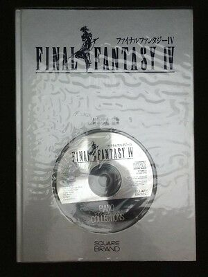 FINAL FANTASY IV 4 PIANO COLLECTIONS W/CD Score Sheet Book from Japan