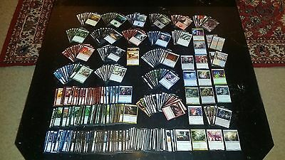 Large mixed lot of 400 plus Magic The Gathering Cards No Doubles