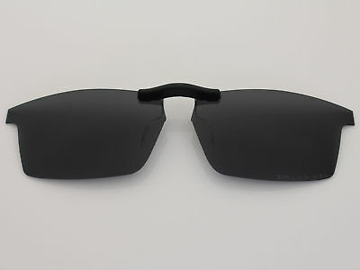 Custom Fit Polarized CLIP-ON Sunglasses For Pitchman (53) OX8050 53X18 Black