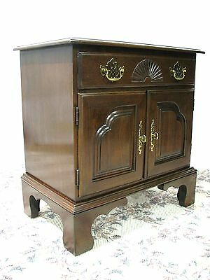 Harden Furniture Solid Cherry Chippendale Style  Nightstand