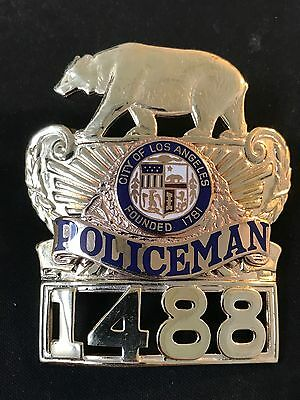Los Angeles Police Series 5 Policeman Cap Piece - LA Stamp & Stationary Co.