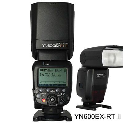 Yongnuo YN600EX-RT II Wireless Flash Speedlite for 600EX-RT YNE3-RT Canon 60D UK