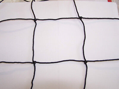 "25' x 4'  BLACK SQUARE 4""  #36 VOLLEYBALL BASKETBALL SOCCER BARRIER NETS"