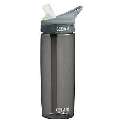 Camelbak Eddy Tritan 600ml Unisex Accessory Water Bottle - Charcoal One Size