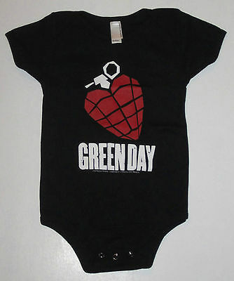 Green Day, Snap Bottom Infant/baby Wear From 2004, Punk Rock