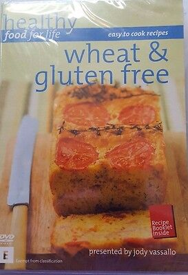 Healthy Food For LIfe Wheat and Gluten Free DVD-9780977591527-Jody Vassallo