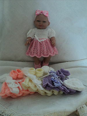various doll clothes 5 to 18 inch doll