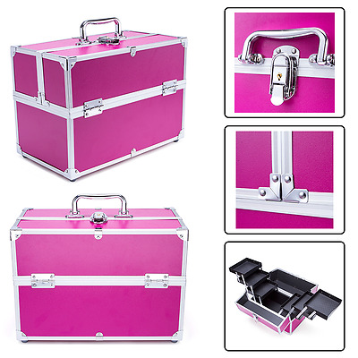 Valigetta Make Up Beauty Case Borsa Porta Trucco Nail Art Cofanetto Parrucchiere