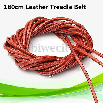 71'' 180cm Long Leather Pedal Treadle Belt For Singer Sewing Machine with Clip