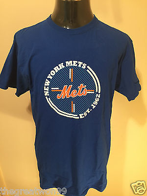 MLB New York Mets XL Printed Cotton Tee by Jerzees