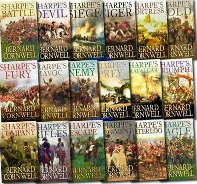 Sharpe Complete 24 Audio Book Collection *direct Download* Bernard Cornwell