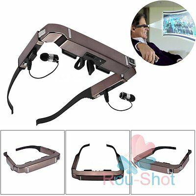 VISION-800 720x540 Smart Android WiFi 3D VR/AR Video Glasses 5MP HD Camera 80""