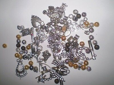 Mixed Silver Tone Plated Findings Pendant-Craft-Jewellry Making-Scrapbooking-New
