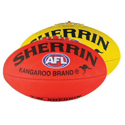 Sherrin Synthetic Supergrip AFL Football full size 5