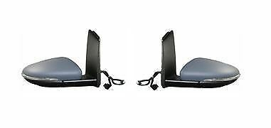 Vw Touran 2010-2015  Electric  Door Wing Mirror 1 X Pair Right Left O/s N/s