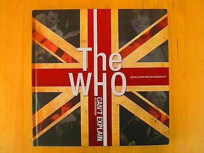 The Who special edition 4-DVD book set Can't Explain, hardback, great condition