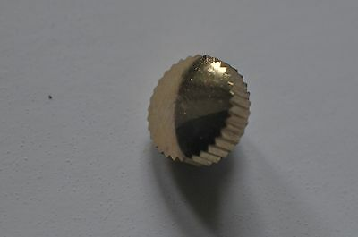 Heuer NOS goldplated crown for Carrera 3647 and 2447 / ø 6,8mm
