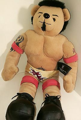 BatisaTattooed and Accessories Wrestling WWE WWF Plush Toy Rare