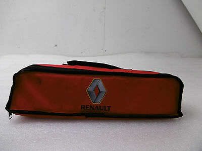 2015 Renault Captur Genuine Supplied Oem Roadside Safety Kit & Carry Case