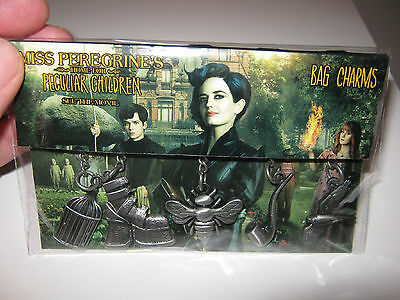 Miss peregrine's home for peculiar children bag charms