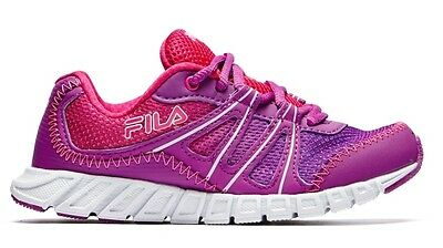 FILA Girl's Colorano Shoes - Lightweight, Comfortable & Protective - Size 6