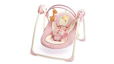 Comfort & Harmony Girafaloo Portable Swing with Adjustable Speed Settings