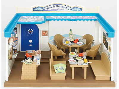 Sylvanian Families Seaside Restaurant with over 90 Pieces of Content