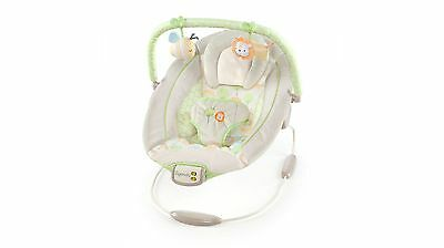 Ingenuity Sunny Snuggles Cradling Bouncer with Relaxing Tunes and Melodies